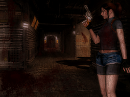 Scared Claire by Jill-Valentine666