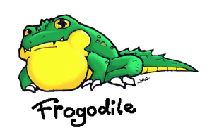 The Frogodile by Jesse-The-Ookami