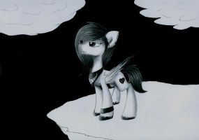 Only black and white by Acridie