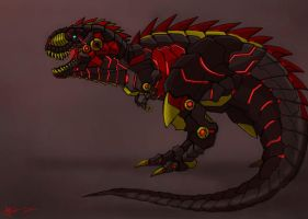 Grimlock dino mode by KIRILL-PREDATOR