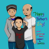 Happy Male Parental Fatherly Person Day! by JayBeanieMags
