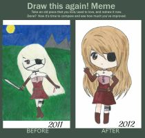 Draw This Again! Meme by pinkumii