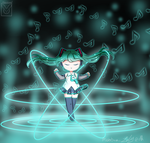 [VOCALOID] Singing just for you! [Hatsune Miku V3] by melobunii-P