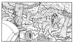 Sneak Peek Page 1 Panel 1 by Charger426