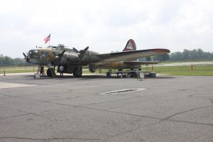 B-17 909 Morning Prep by SwiftFlyer