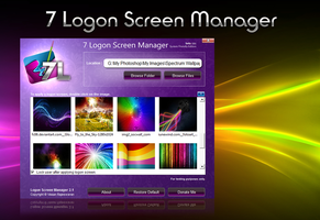 7 Logon Screen Manager by VasanRajeswaran