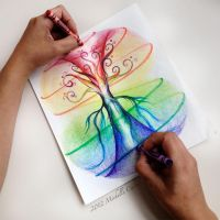 Crayola - Tree of life by artisticalshell