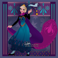 Coronation Elsa by Teo-Hoble