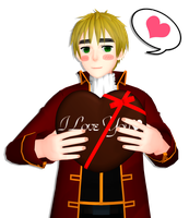 [MMD] England loves you XD by asha1095