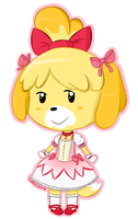 Magical Girl Isabelle by CubedCake