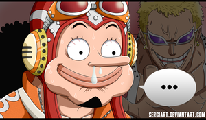 One Piece 713 - Brave warrior Usoland by SergiART