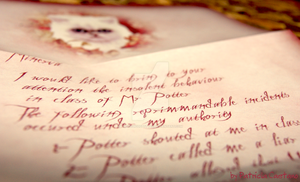 Umbrige Letter by themagicofpotter