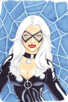 Black Cat - colored by JediDad