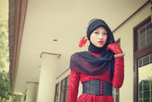 hijab glam 7 by ernest-art