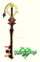 Master Dumont's Keyblade by Mobis-New-Nest