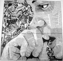 Text Collage- Stress by lostbooks