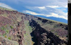 Rio Grande Gorge 12 by DamselStock