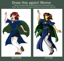 Before and After meme by PatrickleMorse
