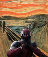 Deadpool scream by TheWinterTouch