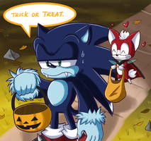 Lets go trick or treating by Domestic-hedgehog
