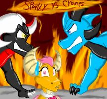 Sparky VS Crones by SexyCynder