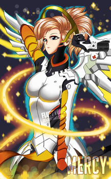 Mercy (Overwatch) by FluffyDus