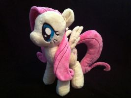 My Little Pony Fluttershy Custom Plush by KairiGurl