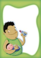diego and baby by circuscreative