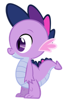 Twilight Spike 2 vector by Durpy