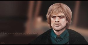 A Lannister always pays his debts by zalxemptyx