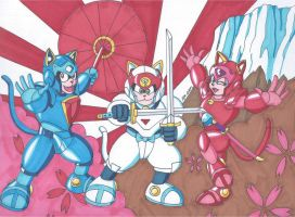 Samurai Pizza Cats by RobertMacQuarrie1