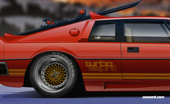 Lotus Esprit s2 A by Axesent