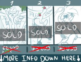 1 YCH available  - YCH1(OPEN) - Discount by KnifeH