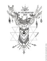 Deer tattoo / commission by TailyCaos