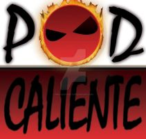 Logo Podcaliente by who-said-that