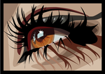 macro eye vector by seldom-sleeping