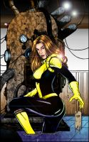 Juans Kitty Pryde colored by azoulin
