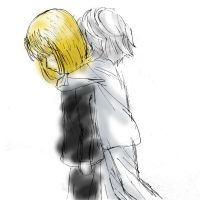 Mello x Near by Chibionpu