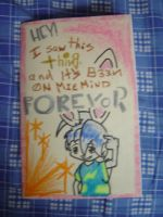 A birthday card Front by Tadoke
