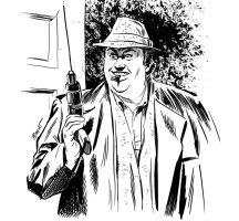 Uncle Buck by our friend Brent Schoonover by AshcanAllstars
