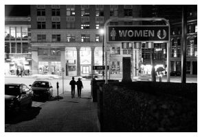 Women go down at night.. by straightfromcamera