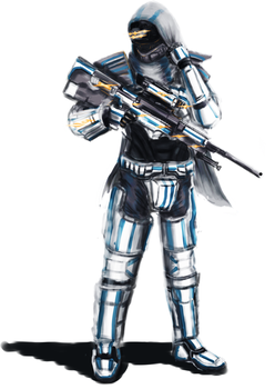 USAN Union 6 Recon Marine Ranger by LupeanTheNavyPriest