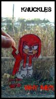 Paper Knuckles by GreenBlood12354