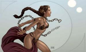 Leia Unleashed by Dunlaoch