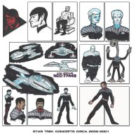 Star Trek  Concepts 2000-2001 by stourangeau