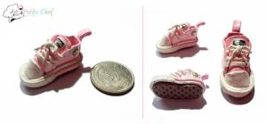 Pink Converse Shoes by kuroso