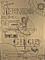 Bainbridge and Briggs Traveling Circus Poster by RespicePostTe