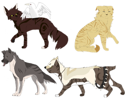 Selling Old Designs! [1 LEFT] by Hawkfeather376