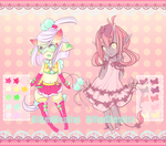 {CLOSED} Ribbons and Pom-Pom Adopts by Riftress