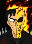 Ghost Rider-doble face by Sub-Real